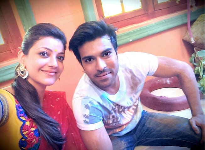 Ramcharan wishes kajal aggarwal on her birthday