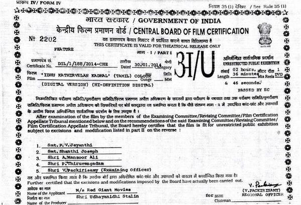 IKK Certificate