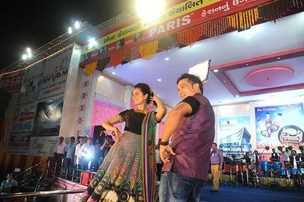 Kangana During Navratri 2014