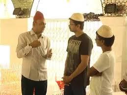 Vijay & AR Murugadoss at darga