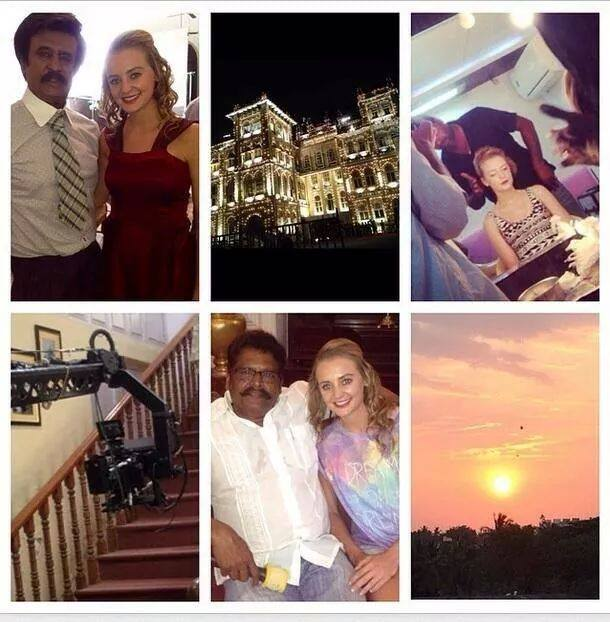 Lingaa on set photos