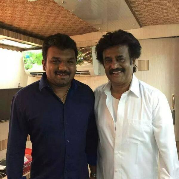 Lingaa On Set