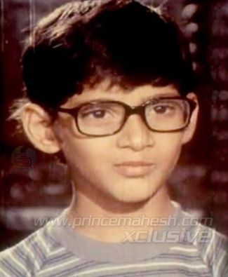 mahesh's childhood image