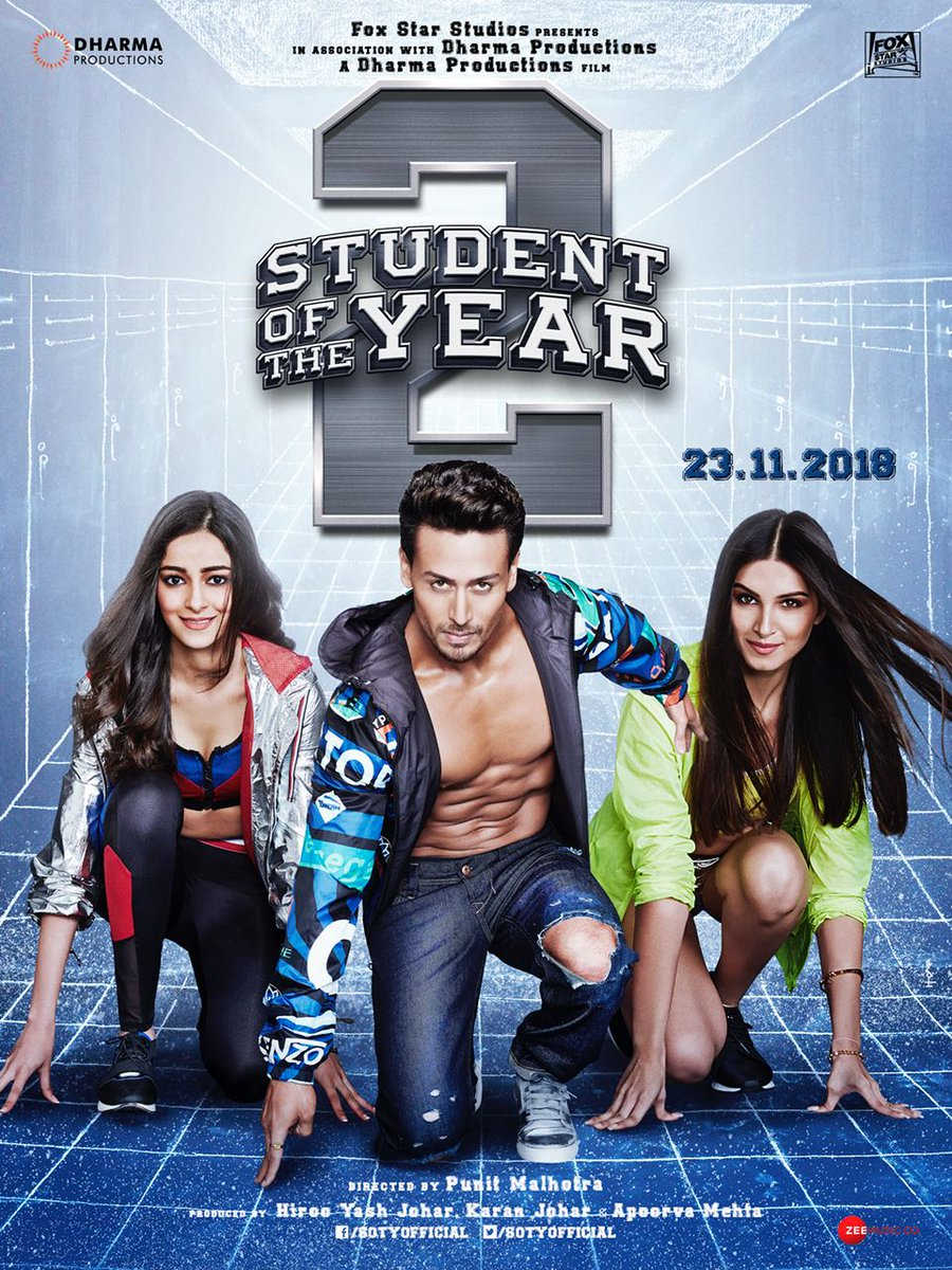 New Hindi Movei 2018 2019 Bolliwood: Student Of The Year 2 (SOTY2) Fan Photos