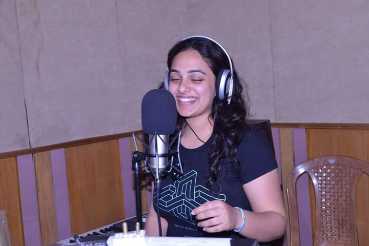 nithya singing