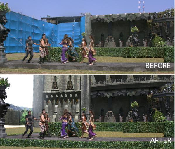 Puli Behind the scene