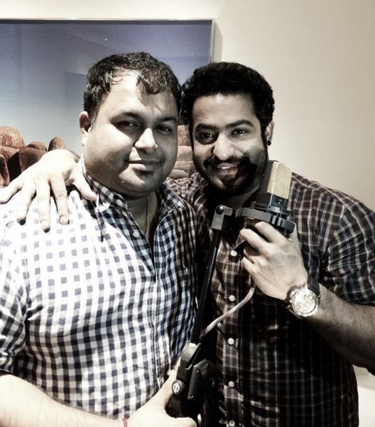 Ntr sings for Rabhasa