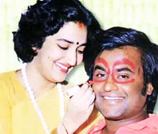 rajini loves wife