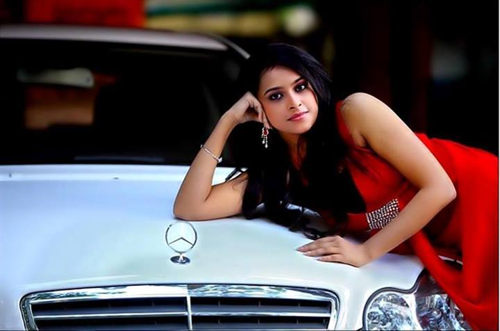 Sri Divya in Model Look