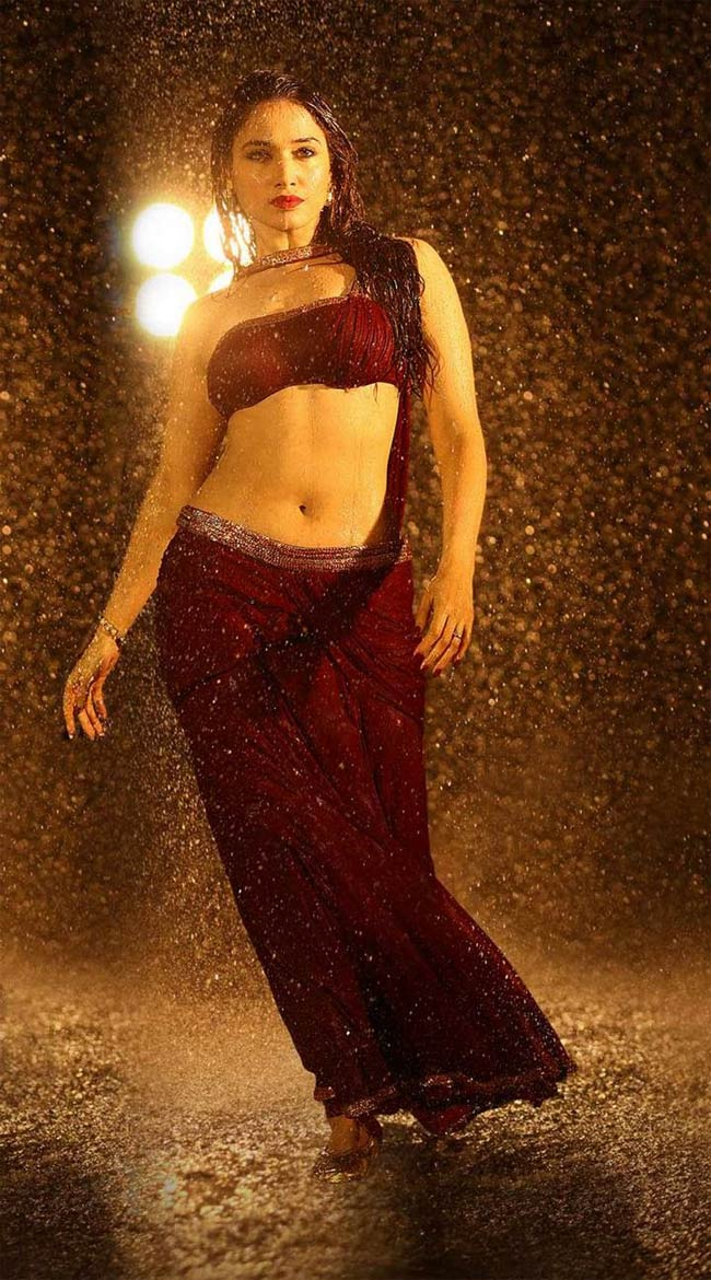Tamanna hot in Bengal Tiger