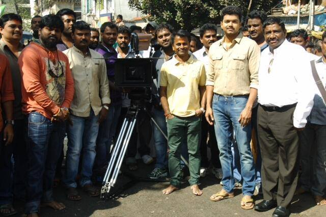 Vijay 57 1st day shoot