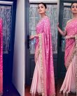 Alia Bhatt looks pretty in her 'Pink Ethnic Saree' LOOK