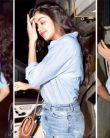 Jhanvi Kapoor looks Cool in Casual Denim LOOK at Arjun Kapoor's Birthday Party