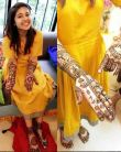 Shweta Tripathi Mehendi Ceremony, looks GORGEOUS in yellow dress