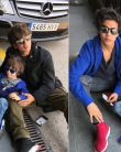 Shahrukh Khan ENJOYS with Son Aryan Khan & Abram Khan at Barcelona