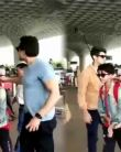 Bobby Deol son Aryaman Deol REFUSES to get CLICKED at Mumbai airport; Watch Video