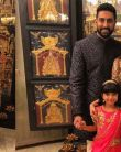 Aaradhya & Aishwarya Rai dazzel at Ambani's Party, Aish looks stunning in Golden Saree