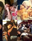 Salman Khan,Shahrukh Khan, & other Bollywood actors CAUGHT sleeping on the sets