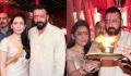 Sanjay Dutt performs Ganpati Puja with wife Manyatta Dutt; Watch Video