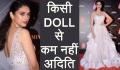 Aditi Rao Hydari looks like DOLL at Femina Beauty Awards red carpet; Watch Video  FilmiBeat