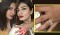 Priyanka Chopra FLAUNTS her Engagement Ring at Manish Malhotra's Party
