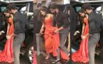 IIFA 2017: Shahid Kapoor HOLDS Mira Rajput's GOWN at the Green Carpet