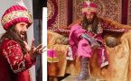 Ravi Dubey Nailed Ranveer Singh's Khilji Look; Pictures Goes Viral