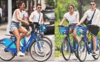 Priyanka Chopra & Nick Jonas's Romantic Bicycle Ride in New York  FilmiBeat