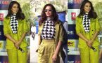 Esha Gupta looks glamorous at One Day trailer launch;Watch video