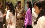 Jhanvi Kapoor stopped by security guard at Mumbai airport after Deepika Padukone