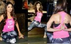 Shilpa Shetty's workout and Yoga will wins your heart; Watch video