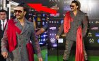 Ranveer Singh's quirky look at IIFA 2019;Watch video