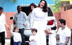 Sunny Leone & Daniel Weber spotted with her kids at their playschool; Watch video