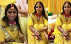 Mohena Kumari Singh looks beautiful in her Haldi ceremony; Check out here