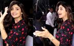 Shilpa Shetty gives this expression in front of media; Watch video