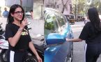 Sara Ali Khan searches her car in front of camera;Watch video
