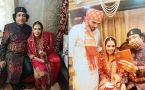 Abu malik's daughter gets married at low-key ceremony at home