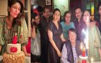 Kareena Kapoor Khan celebrated her 40th birthday with family