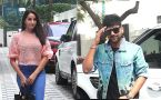 Nora Fatehi & Guru Randhawa spotted at T- series office