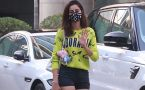 Ananya Panday spotted at Grand Hyatt Regency Andheri