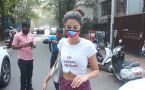Ananya Pandey spotted at Yoga class