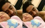 Aly Goni completes his sleep with new born nephew; Check Out
