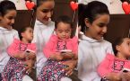 Jasmi Bhasin plays with Aly Goni cute Nephew; Check Out