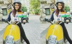 Jasmin Bhasin's Bike ride video goes Viral;Check Out