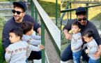 Aly Goni & Jasmin Bhasin spending good time with Nephew