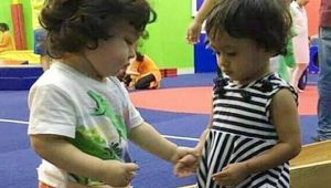 Taimur Ali  Khan FINDS his GIRLFRIEND in play school । FilmiBeat