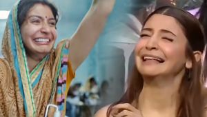 Indian Idol 10: Anushka Sharma RECREATES funny crying meme from Sui Dhaaga