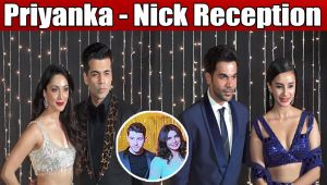 Priyanka Nick Reception When Karan Johar Kiara Advani Rajkummar Arrive Watch Video