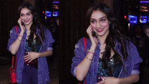 Rumi Jafry's daughter Alfia Jafry spotted on her birthday in denim look