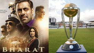 Salman Khan's film Bharat clashing with World Cup first match: Check out here